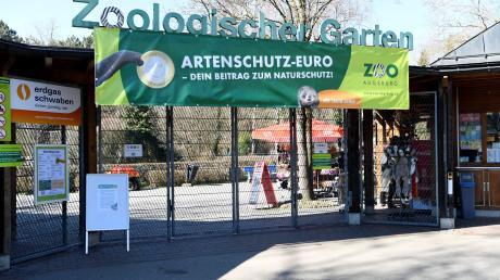 Die Tore des Augsburger Zoos sind derzeit geschlossen.