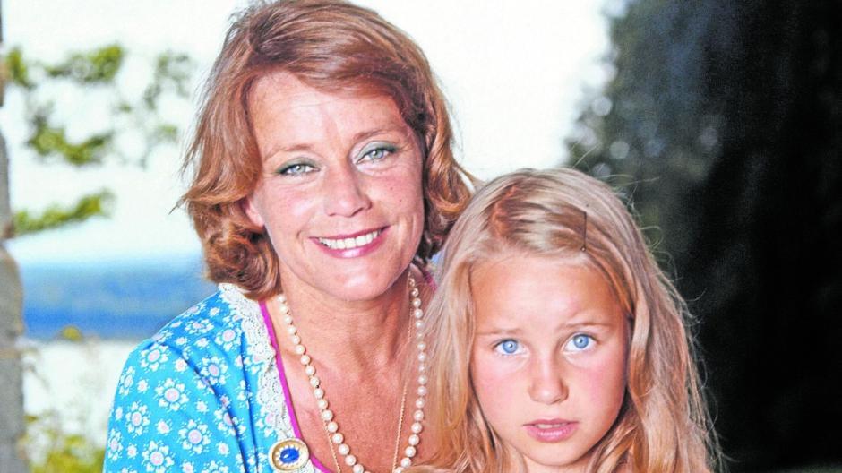 Das Verhältnis war nicht immer ungetrübt: Maria Schell mit ihrer Tochter im Jahr 1972.