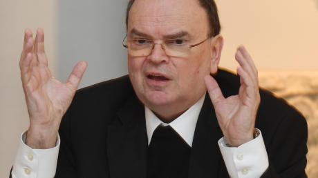 Bischofs Bertram Meier erkennt die Schuld der Kirche in den Missbrauchsfällen an.