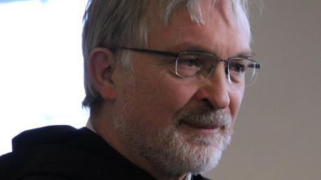 Bischof Gregor Maria Hanke bei der Vorstellung des Prüfberichts zum Finanzskandal desBistums Eichstätt im Jahr 2019.