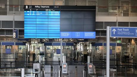 Terminal 1, Abflugbereich B, 15.19 Uhr: Das restliche Programm für diesen Tag ist überschaubar.