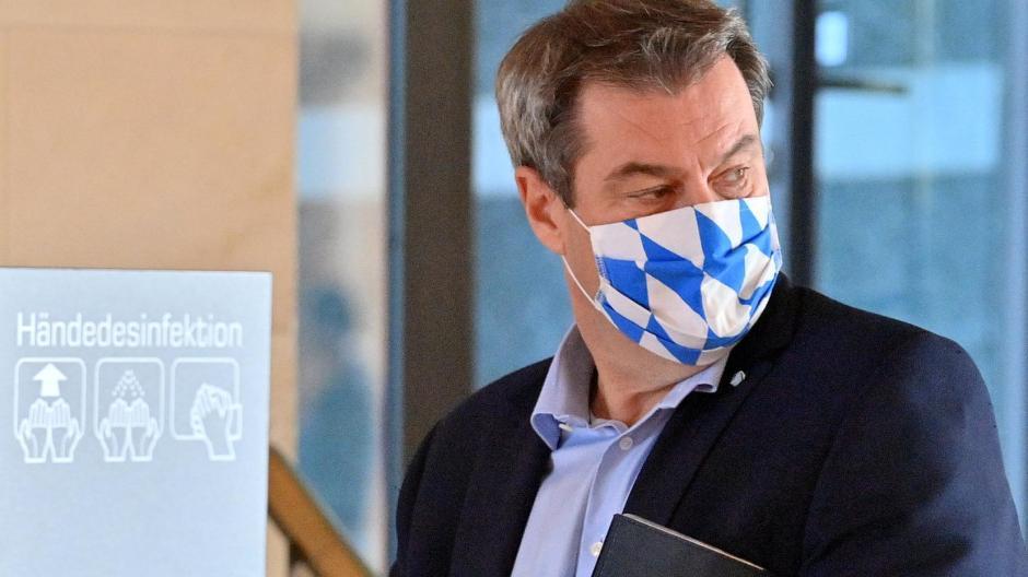 Ministerpräsident Markus Söder warnt angesichts der steigenden Zahlen vor zu viel Leichtsinn.