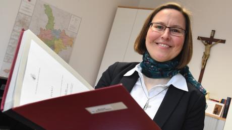 Anna Schenck ist die Amtsleiterin des Augsburger Bischofs Bertram Meier.