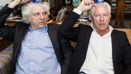 Eine ihrer Stärken: Sie nehmen sich selbst nicht immer bierernst. Udo Wachtveitl (links) und Miroslav Nemec sind seit 30 Jahren die beiden Münchner Tatort-Kommissare Franz Leitmayr und Ivo Batic.