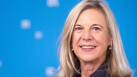 """""""Historischer Schritt für den BR"""": Katja Wildermuth nach ihrer Wahl zur Intendantin am 22. Oktober 2020."""