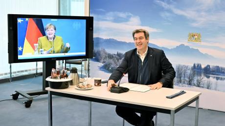 Wird es Markus Söder nun doch zur Kanzlerkandidatur hinziehen?