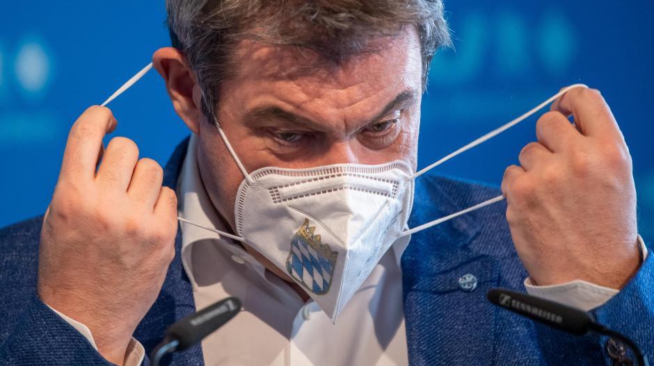 Die Umfrageergebnisse seiner Partei sinken, seine Zustimmungswerte steigen: Bayerns Ministerpräsident Markus Söder.