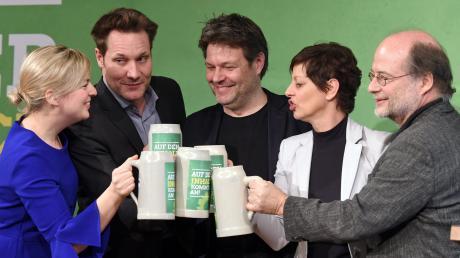 Innerhalb von gut sechs Jahren hat sich die Mitgliederzahl der bayerischen Grünen verdoppelt – ein Erfolg, den der als Landesvorsitzender abtretende Eike Hallitzky (rechts) auch auf einen Sinneswandel innerhalb der Partei zurückführt.