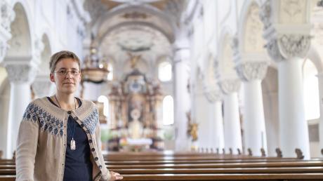 Juliana Seelmann, Ordensschwester im Kloster Oberzell, steht am 2. Juni vor Gericht. Sie gewährte zwei geflüchteten Frauen aus Nigeria Kirchenasyl.