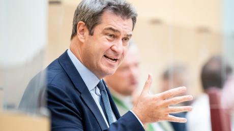 Ministerpräsident Markus Söder ist dafür, die für die kommenden Wochen geplante Ministerpräsidentenkonferenz vorzuziehen.