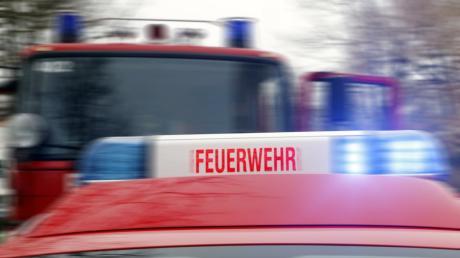 In Landsberg musste die Feuerwehr am Samstag zum Brand eines Schrebergartenhauses in der Jahnstraße ausrücken.