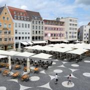 Die Trickdiebinnen waren unter anderem in der Augsburg Innenstadt am Rathausplatz unterwegs.