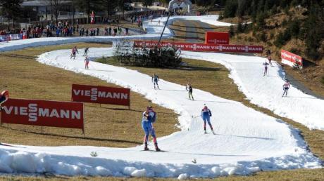 Kaum Schnee: Dieser Winter stellt den Skiverband vor Probleme.
