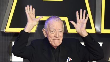 Der schwedisch Filmstar Max von Sydow ist gestorben.