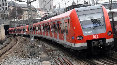 Die S-Bahn-Stammstrecke in München ist von Freitagabend bis Montagmorgen teilweise gesperrt.