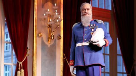 Markus Söder - verkleidet als Prinzregent Luitpold von Bayern.