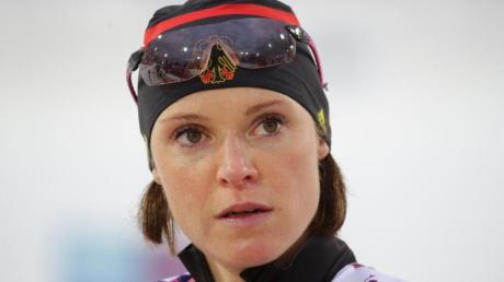 Biathletin Evi Sachenbacher-Stehle wurde 2014 in Sotschi nach Platz vier im Massenstart positiv getestet. Nun stellt sich heraus: Sie könnte ein Bauernopfer der Doping-Kontrolleure sein.