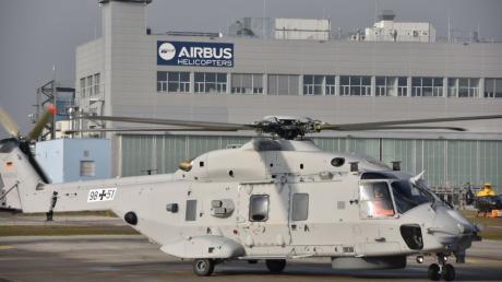 Airbus Helicopters in Donauwörth meldet Kurzarbeit an. Es ist allerdings nur ein Teil des Unternehmens betroffen.