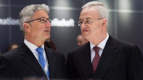 VW will Schadensersatz von Rupert Stadler  und Martin Winterkorn.