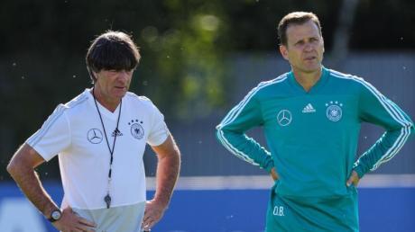DFB-Direktor Oliver Bierhoff muss nun dazu beitragen, einen Nachfolger für Joachim Löw zu finden.