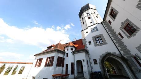 Das Vöhlinschloss: Hübscher Turm mit schauriger Geschichte.