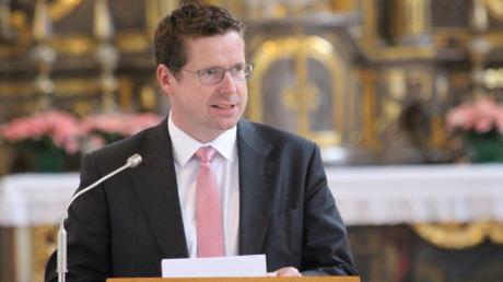 CSU-Sozialexperte Stephan Stracke glaubt beim Thema Grundrente nicht an eine schnelle Einigung.