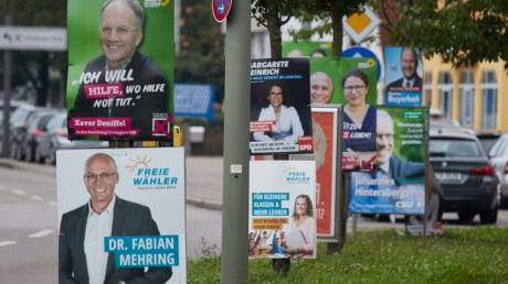 Gibt es zur Kommunalwahl 2020 in Aichach-Friedberg weniger Wahlplakate?