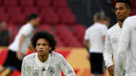 Leroy Sané (links) und Thilo Kehrer dürften in Zukunft eine größere Rolle in der Nationalelf spielen.