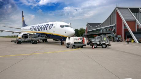 Neben Wizz Air ist Ryan Air die zweite große Partner-Airline am Allgäu Airport.