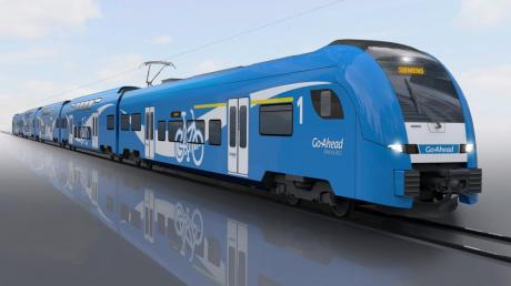 Mit solchen Triebwagen will der private Bahnbetreiber Go Ahead ab Ende des Jahres 2022 den Betrieb im Augsburger Fuggerexpress-Netz aufnehmen.