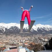 Eric Frenzel bereitet sich im Training auf die Nordische Ski-WM vor. Foto:Georg Hochmuth/apa