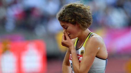 Alina Reh, Leichtathletik - WM