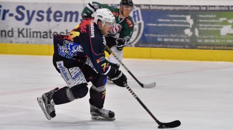 Leistungsträger Daniel Menge stand beim Spiel in Passau erstmals wieder im Kader.