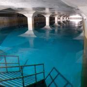 Im Hochbehälter Leitershofen lagern Millionen Liter an Trinkwasser für die Menschen in Augsburg und den angrenzenden Städten.