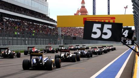 Formel 1 2021: GP von Russland in Sotschi - alle Infos zum Rennen