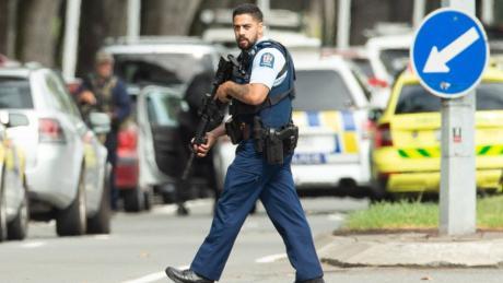 Schüsse in Moscheen in Neuseeland