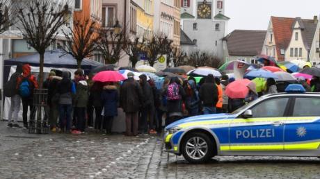 In Günzburg wird auch am Freitag wieder fürs Klima gestreikt.