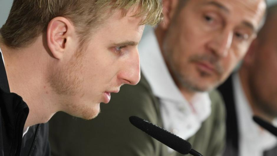 Pressekonferenz Eintracht Frankfurt