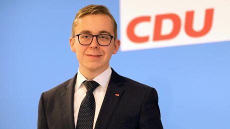 Philipp Amthor ist mit 26 Jahren der jüngste CDU-Abgeordnete im deutschen Bundestag.