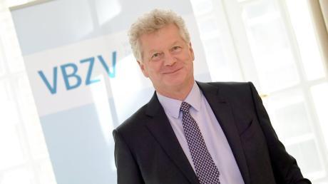 Andreas Scherer, VBZV-Vorsitzender bei der Jahrestagung des Verbands Bayerischer Zeitungsverleger.