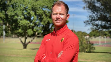Christopher Hallmann, Zehnkampf-Trainer vom SSV Ulm, wird ab April Bundestrainer sein.