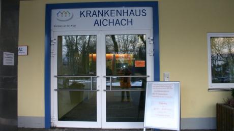 Eine Bereitschaftspraxis öffnet nächste Woche im alten Aichacher Krankenhaus.