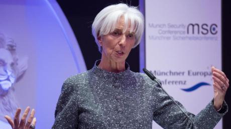 Christine Lagarde, Präsidentin des Internationalen Währungsfonds (IWF). Foto: Sven Hoppe