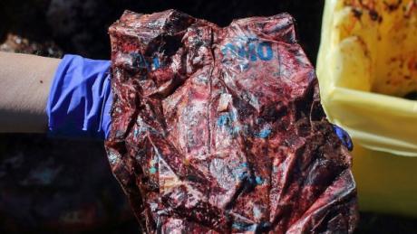 Die World Wildlife Foundation ist alarmiert über Kunststoffe im Mittelmeer, nachdem ein acht Meter langer Pottwal tot vor Sardinien mit 22 Kilogramm Kunststoff im Bauch gefunden wurde.