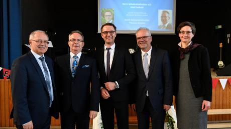 Verabschiedung Schulamtsdirektor Josef Seibold Günzburg