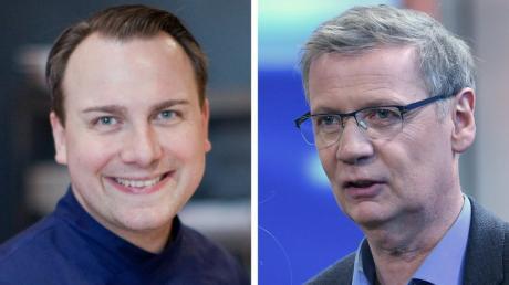 Sternekoch Tim Raue und Moderator Günther Jauch eröffnen gemeinsam ein Restaurant in der Villa Kellermann in Potsdam.