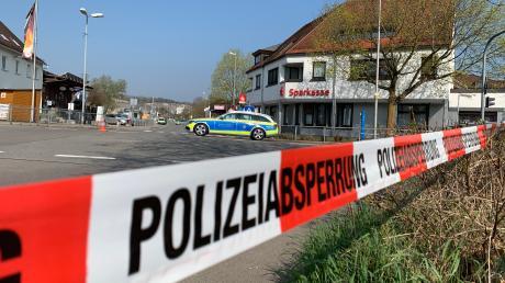 Das Ortszentrum in Ehrenstein ist wegen einer Bombendrohung teilweise abgesperrt worden.