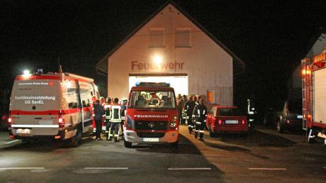 Eine große Suchaktion hat am Samstagabend im Bereich des Bucher Ortsteils Ritzisried stattgefunden.