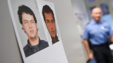 Fahndungsfotos des damals im Zusammenhang mit dem Terroranschlag vom Breitscheidplatz gesuchten Tunesiers Anis Amri.
