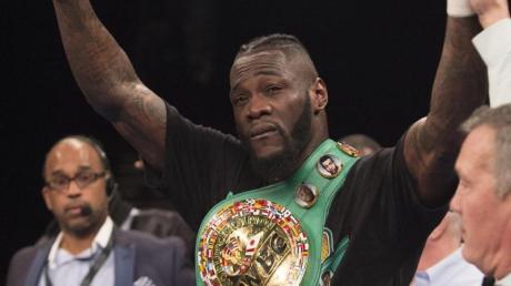 Deontay Wilder (Bild) will seinen WM-Titel des Verbandes WBC gegen Dominic Breazeale verteidigen.